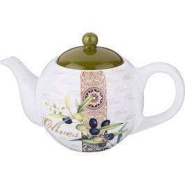 Чайник заварочный AGNESS Оливки 900мл, керамика, 358-1016