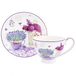 Пара чайная Лаванда 300мл, фарфор