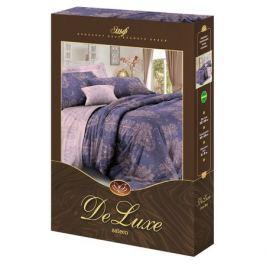 Комплект постельного белья De Luxe 2-сп Бейла, р-р: прост. 220х240см, под. 175х215см, нав. 70х70см 2шт ,сатин, 100%хл, 115гр/м2