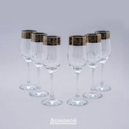 Набор бокалов д/шампанского Настроение Домовой 6шт, 200мл, стекло