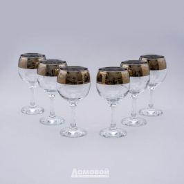 Набор бокалов д/вина Настроение Домовой 6шт, 260мл, стекло