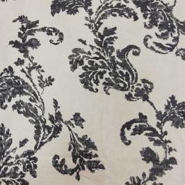 Портьера Родос, размер: 160х270см, кремово-серый, блэкаут, на шторной ленте
