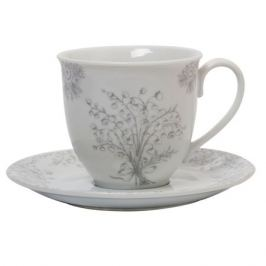 Набор чайный Lucky Charm 2/4пр, 250мл, фарфор