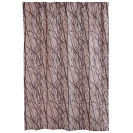 Портьера Forest, размер: 140х260см, коричневый, на шторной ленте