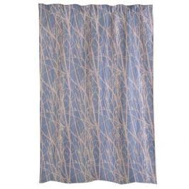 Портьера Forest, размер: 140х260см, голубой, на шторной ленте