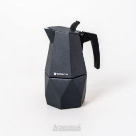 Кофеварка гейзерная POLARIS Kontur-4C лит.ал., 4 чашки