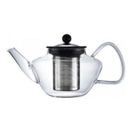 Чайник для заваривания Lord, 0.6 л,термостойкое стекло, нерж.сталь