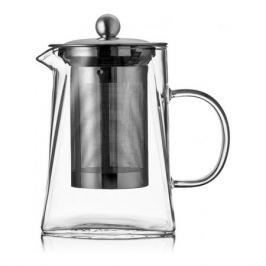 Чайник для заваривания Spirit, 800мл,термостойкое стекло, нерж.сталь