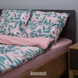 Комплект постельного белья СТМ Fiority 1,5-спальный Jasmine, р-р: под.145х210см, прост.150х215см, нав.70х70см 2шт, сатин, 100%хл, 110гр/м2