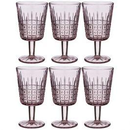 Набор бокалов д/вина Графика роз 6шт 300мл, стекло