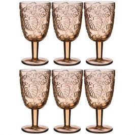 Набор бокалов д/вина Джангл беж 6шт 300мл, стекло