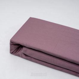 Простыня СТМ Сатин Евро на резинке, размер: 180х200см, сатин, 100%хл, 125г/м2, гладье, пыльно-розовый
