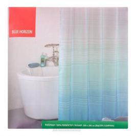 Занавеска для ванной комнаты IDDIS Blue Horizon, 200х200 см, полиэстер 301P20RI11