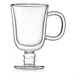 Набор кружек Irish Coffee двойная стенка 225мл, стекло