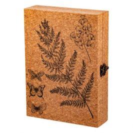 Ключница Ботаника, размер: 25х6х18см, пробковая