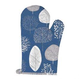 Прихватка-рукавица Melissa Forest синее, размер: 18х30см, хлопок 100%