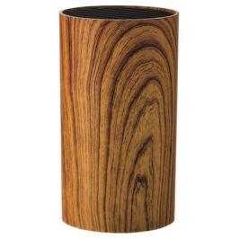 Подставка для ножей WALMER Aspen Wood, 9х9х16см, пластик