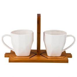 Набор чайный Стрела 2/4пр, 220мл, фарфор
