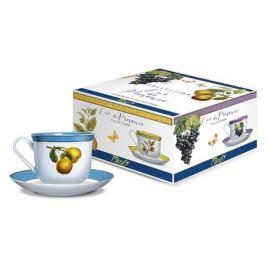 Пара чайная PRIORITY Дыхание Прованса Груша 480мл, фарфор, КРС-751