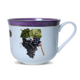 Пара чайная PRIORITY Дыхание Прованса Виноград 480мл, фарфор, КРС-755