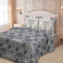 Комплект постельного белья для Snoff Сатин на рез.Евро Султанна,р-р:прос.на рез.180х200см,под.200х220см,нав.70х70см2шт,сатин,100%хл,115гр/м2