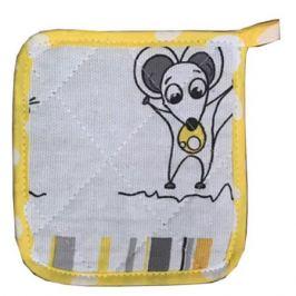 Прихватка Мышки, размер: 15х15см, рогожка