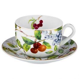 Пара чайная LEFARD Ягоды 300мл, фарфор, 275-982