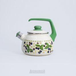 Чайник со свистком Metrot Ежевика 2,5 л, эмаль