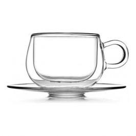 Чайная пара Viscount, 250мл,термостойкое стекло