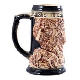 Кружка д/пива Охота 850мл, керамика