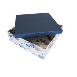 Коробка подарочная квадрат 27х27х9см