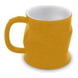 Кружка Мятая желтая, 320мл, керамика