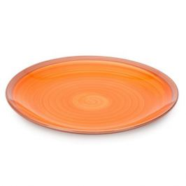 Тарелка обеденная Wood Orange 27см, керамика