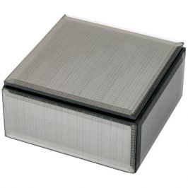 Шкатулка для хранения Бурлеск, размер: 12х12х6см, мдф, стекло