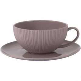 Пара чайная Какао 200мл, фарфор, ПУ