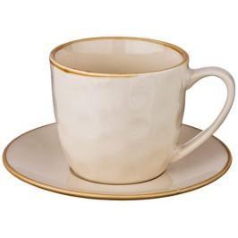 Пара чайная Сoncerto Крем 240мл, керамика
