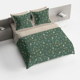 Комплект постельного белья Bravo Поплин Евро Генрих, р-р:под.205х215см, прост. 220х215см, нав.70х70см 2шт, поплин, 100% хл,115 г/м2