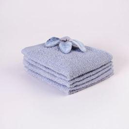Полотенце махровое СТМ 300, размер: 30х30 см, гладкокрашеное, серый, 300 гр/м2, 100%хлопок