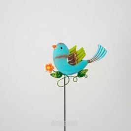 Штекер садовый Птичка, 15,8х1,2х53,4 см, металл