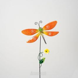 Штекер садовый Стрекоза, 19,3х1,6х61 см, металл