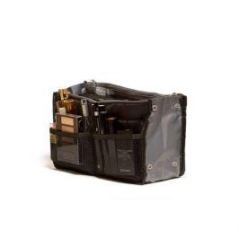 Органайзер HOMSU для сумки, черный, 3 отделения, 9 карманов, 30х8,5х18,5см