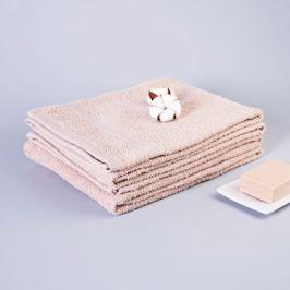 Полотенце махровое СТМ 300, размер: 70х130 см, гладкокрашеное, кремовый, 300 гр/м2, 100%хлопок