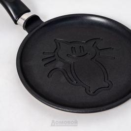 Сковорода блинная НМП 22см, а/п покрытие, литой алюминий