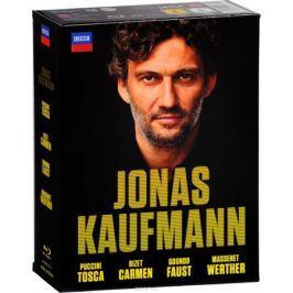 Jonas Kaufmann: Tosca / Carmen / Faust / Werther (4 Blu-ray)