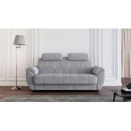 Прямой диван Askona ANTARES Nova Casanova grey 140x200
