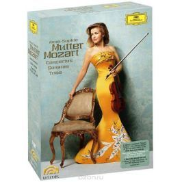 Mozart, Anne-Sophie Mutter: Violin Concertos, Sonatas, And Trios (5 DVD)
