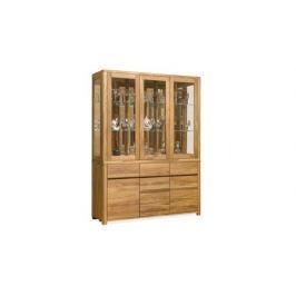 Шкаф из массива дуба Askona Lausanne комбинированный 3-х дверный