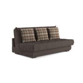Прямой диван Askona VEGA Trafalgar brown 140x200