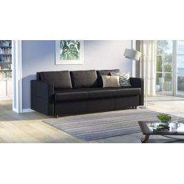 Прямой диван Askona BINGEM Fashion Black 140x202