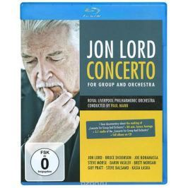 Jon Lord: Concerto For Group And Orchestra (Blu-ray + CD)